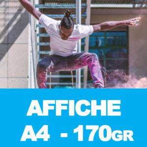 Affiches A4 170gr – 50 ex.
