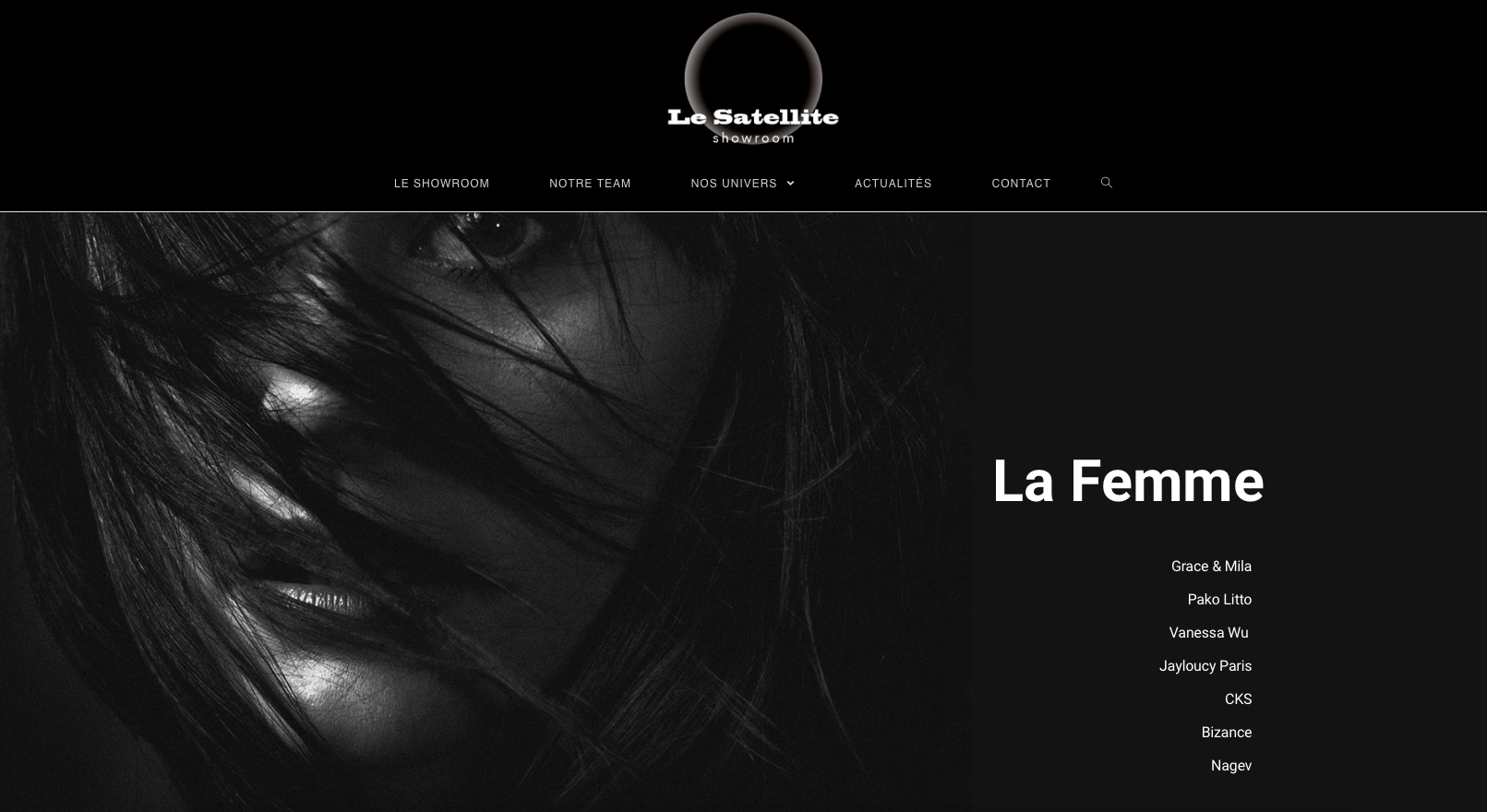 Showroom Le Satellite : Un nouveau site web