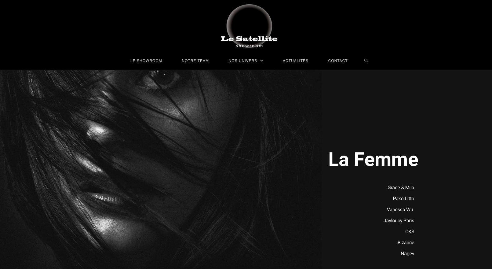 Showroom Le Satellite : Un nouveau site web