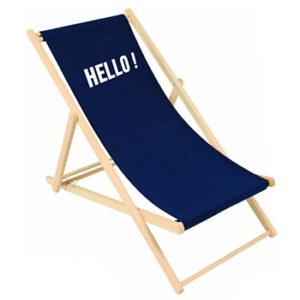 Chaise longue personnalisable