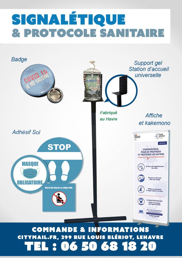 Signalétique et protocole sanitaire