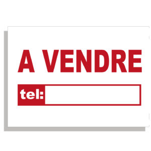 Panneau A VENDRE 30 x 40 cm 5ex.